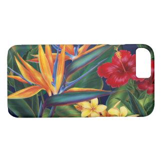 Coque iPhone 8/7 Cas hawaïen de l'iPhone 7 de paradis tropical
