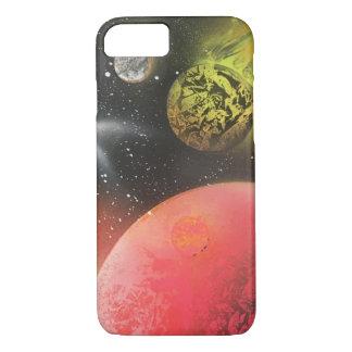 Coque iPhone 8/7 Cas imminent de téléphone d'art de peinture de jet