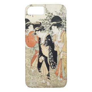 Coque iPhone 8/7 Cas japonais de l'iPhone 7 d'art