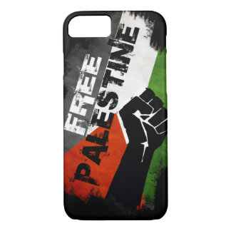 Coque iPhone 8/7 Cas libre du cas G de l'iPhone 7 de la Palestine