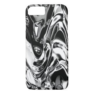Coque iPhone 8/7 Cas liquide de téléphone en métal