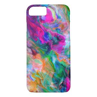 Coque iPhone 8/7 Cas liquide lumineux de couleur