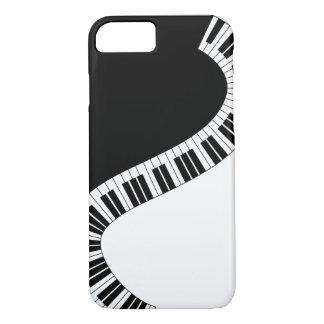 Coque iPhone 8/7 Cas musical de téléphone de piano