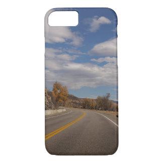 Coque iPhone 8/7 Cas ouvert de téléphone portable de route