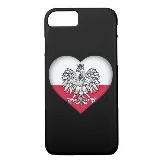 Coque iPhone 8/7 Cas polonais de téléphone d'amour