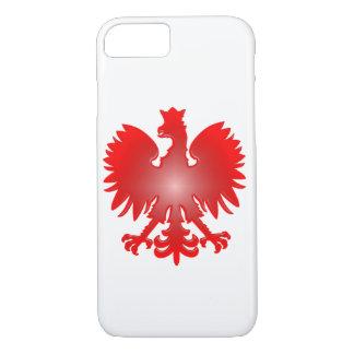 Coque iPhone 8/7 Cas polonais de téléphone d'Eagle