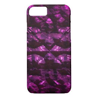 Coque iPhone 8/7 Cas rose inégal brillant de téléphone