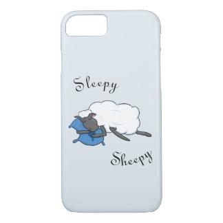 Coque iPhone 8/7 Cas somnolent de téléphone de Sheepy