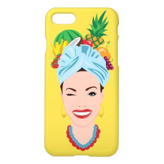 Coque iPhone 8/7 Cas tropical de l'iPhone 7 de diva