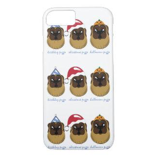 Coque iPhone 8/7 Célébration de la conception de Puggo