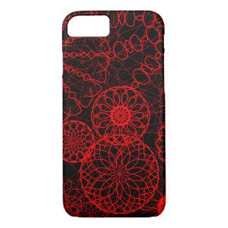Coque iPhone 8/7 cercles rouges