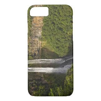 Coque iPhone 8/7 Chamarel Cascade-haut sur les Îles Maurice, plus