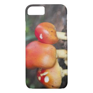 Coque iPhone 8/7 Champignon de famille d'amanite