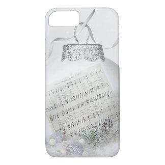 Coque iPhone 8/7 Chant de Noël dans la neige