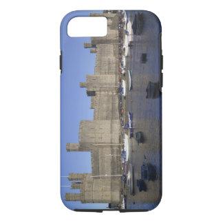 Coque iPhone 8/7 Château de Caernarfon, Gwynedd, Pays de Galles