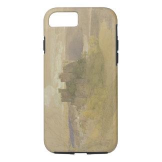 Coque iPhone 8/7 Château de Conway (graphite, la semaine et gouache