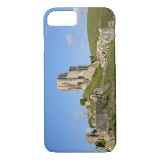 Coque iPhone 8/7 Château de Corfe, Corfe, Dorset, Angleterre