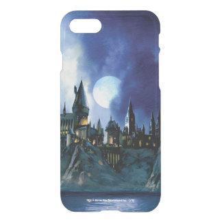 Coque iPhone 8/7 Château de Harry Potter   Hogwarts la nuit