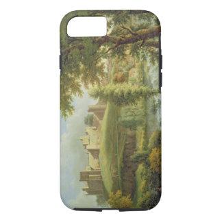 Coque iPhone 8/7 Château de Ludlow avec le déversoir de Dinham, des