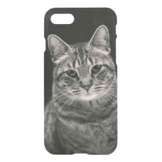Coque iPhone 8/7 Chaton tigré noir
