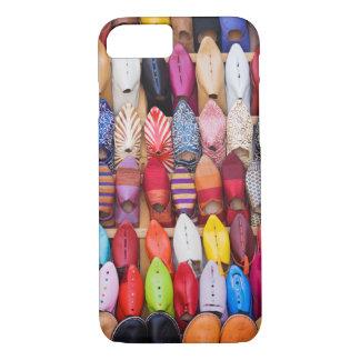 Coque iPhone 8/7 Chaussures montrées dans un magasin dans les souks