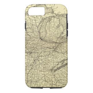 Coque iPhone 8/7 Chemin de fer de New York, de la Pennsylvanie et