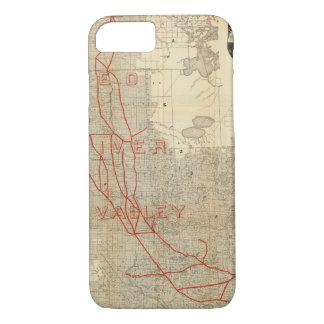 Coque iPhone 8/7 Chemin de fer de St Paul, de Minneapolis et de