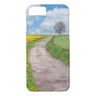 Coque iPhone 8/7 Chemin de terre et arbre