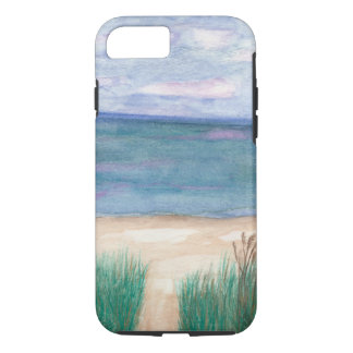 Coque iPhone 8/7 Chemin Lanscape de plage