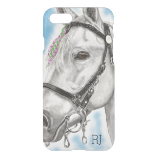 Coque iPhone 8/7 Cheval blanc