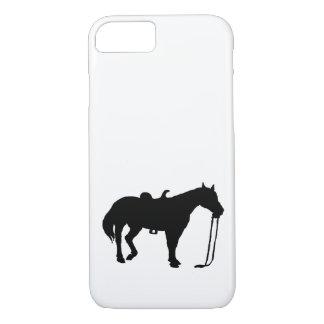 Coque iPhone 8/7 Cheval noir