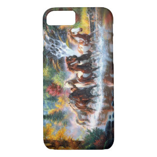 Coque iPhone 8/7 Chevaux sauvages