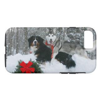Coque iPhone 8/7 Chien de Bernese Mt et cas de téléphone de chien