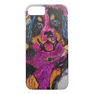Coque iPhone 8/7 Chiot de chien de montagne de Bernese