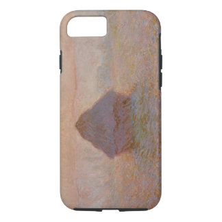Coque iPhone 8/7 Claude Monet | Grainstack, Sun dans la brume