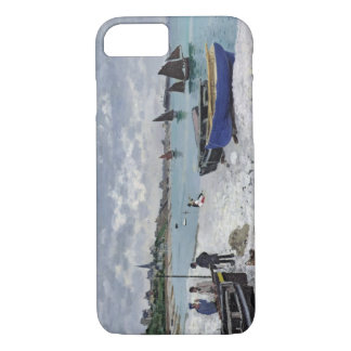 Coque iPhone 8/7 Claude Monet | la plage chez Sainte-Adresse