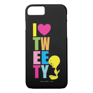 Coque iPhone 8/7 Coeur Tweety de Tweety I