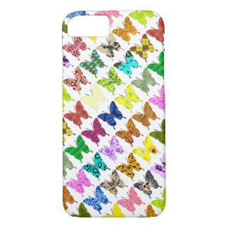 Coque iPhone 8/7 Collage de papillon