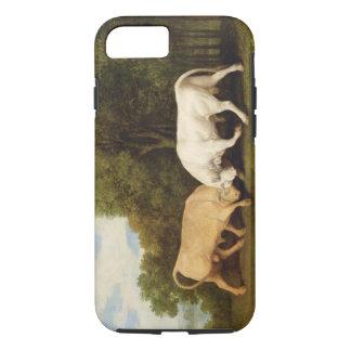 Coque iPhone 8/7 Combat de taureaux, 1786 (huile sur le panneau)