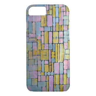 Coque iPhone 8/7 Composition en Piet Mondrian aucun V