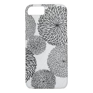 Coque iPhone 8/7 Concepteur de chrysanthème modelé
