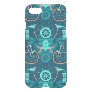 Coque iPhone 8/7 Conception bleue nautique