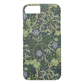 Coque iPhone 8/7 Conception de papier peint d'algue, imprimée par