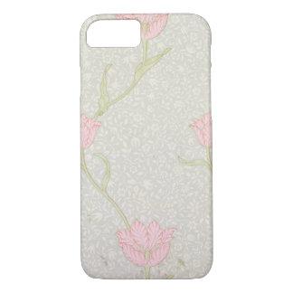 "Coque iPhone 8/7 Conception de papier peint ""de tulipe de jardin"","