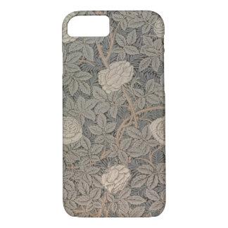 """Coque iPhone 8/7 Conception du papier peint """"Rose-90"""""""