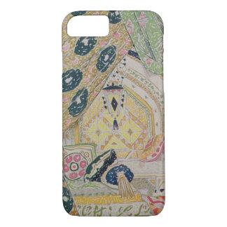 Coque iPhone 8/7 Conception orientale de paysage (litho de couleur)