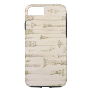 Coque iPhone 8/7 Conceptions en bois persanes et turques de