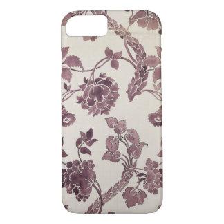 Coque iPhone 8/7 Concevez pour une damassé en soie, 1752 (crayon et