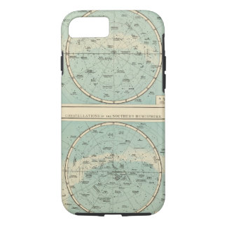 Coque iPhone 8/7 Constellations, système solaire, lune