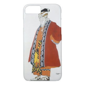 Coque iPhone 8/7 Costumez la conception pour un vieil homme dans un